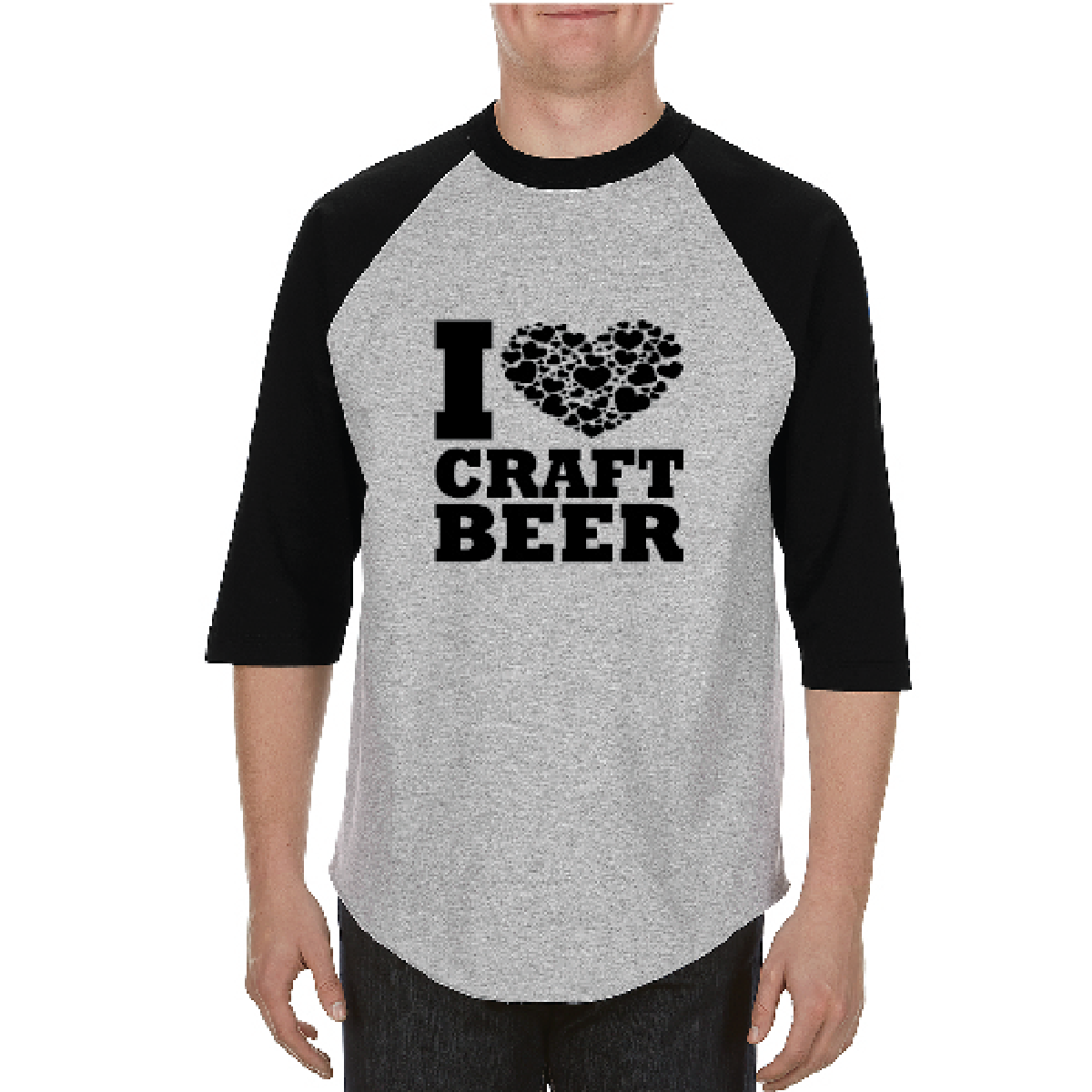 Shirt - 3/4 Sleeve Beer Calendar