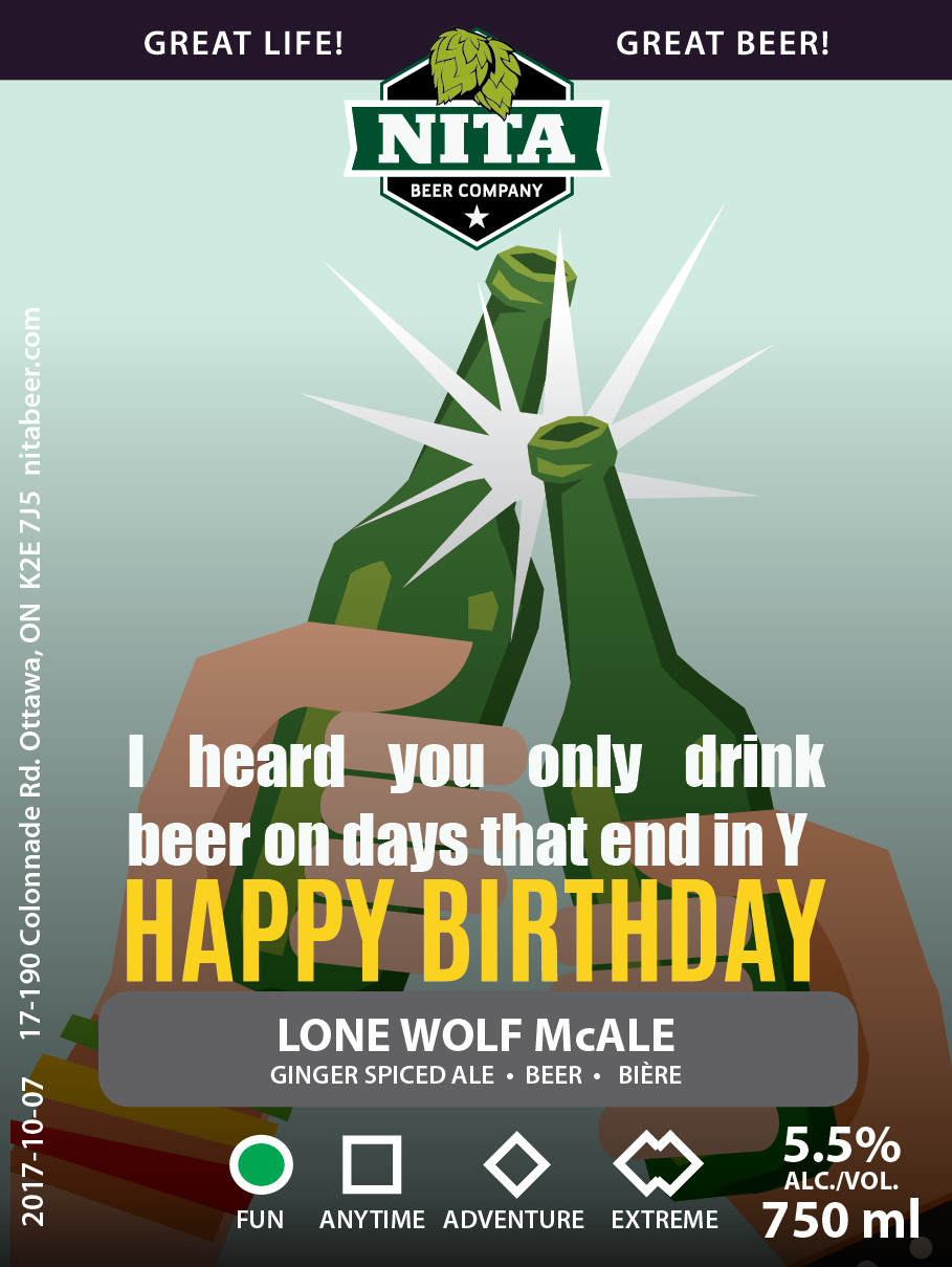 Birthday Beer Cards