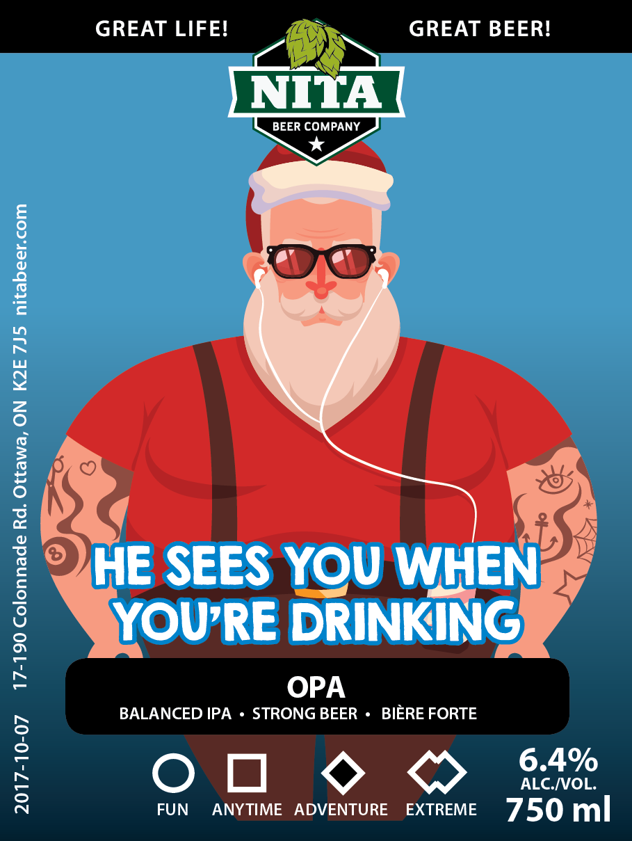 Christmas/Holiday Beer Cards