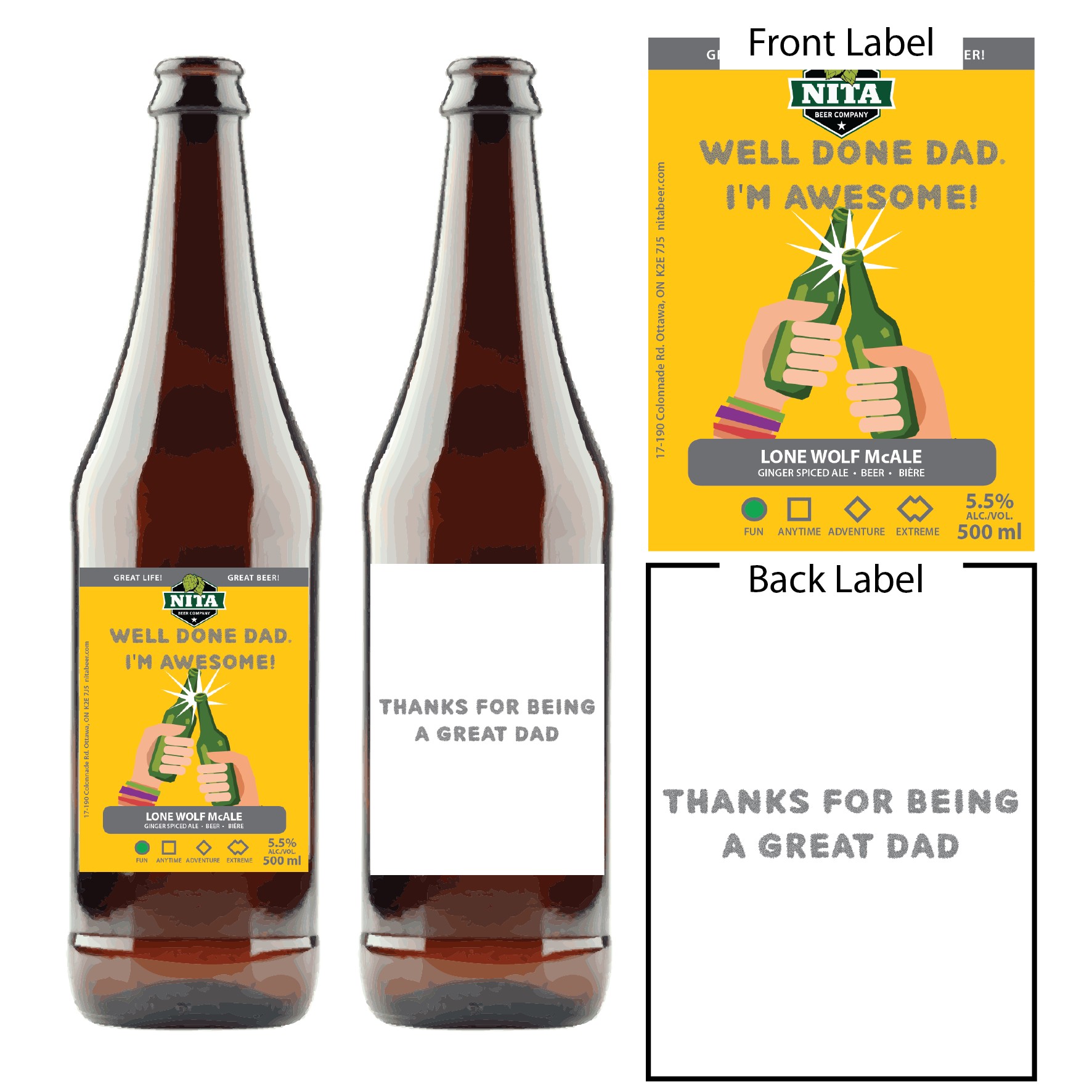 Father's Day Beer Cards