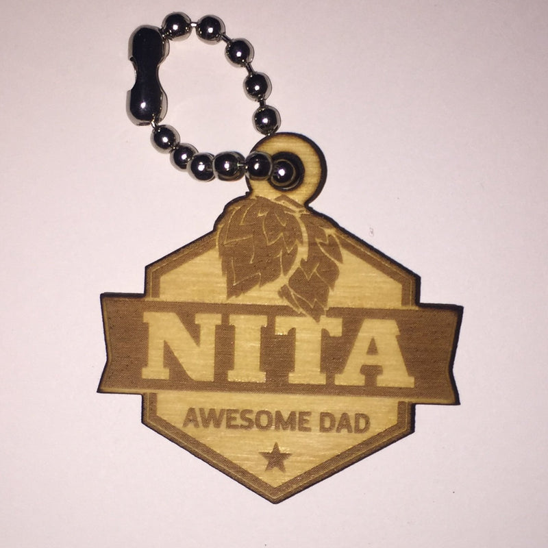 Nita Awesome Dad Tag