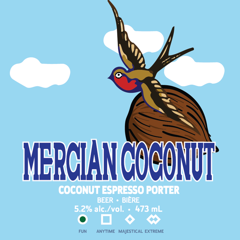 Mercian Coconut - Cans