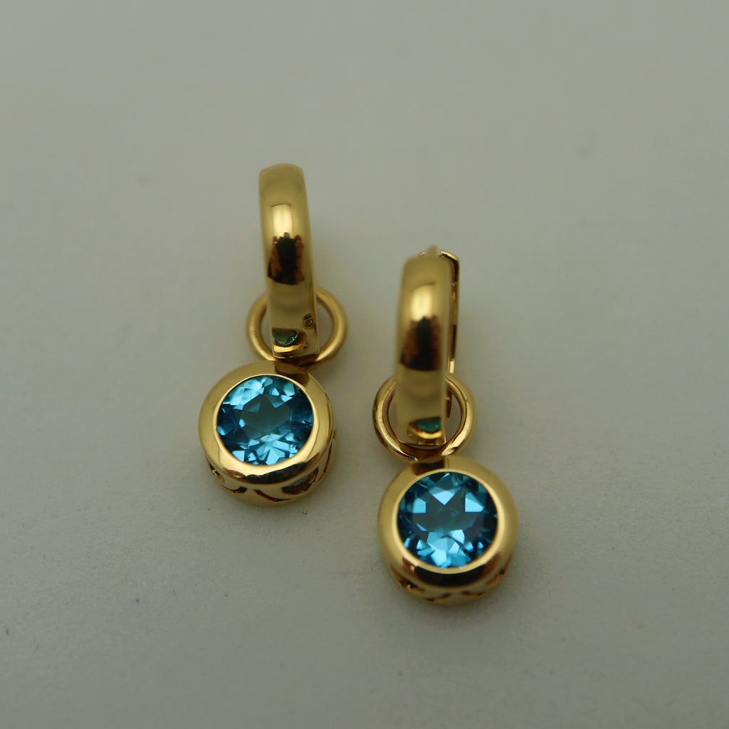 Bella - Swiss Blue Topaz