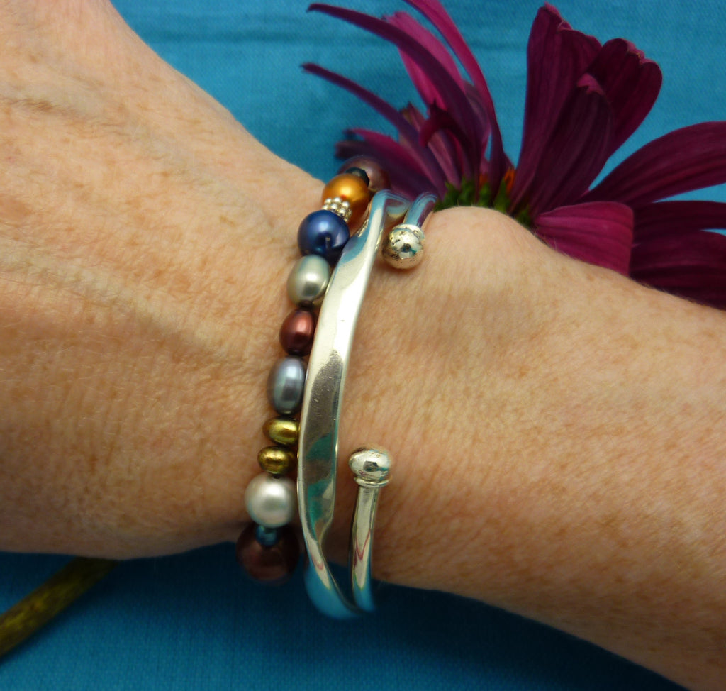 layered with Kimi and Heavy Twisted Bangle