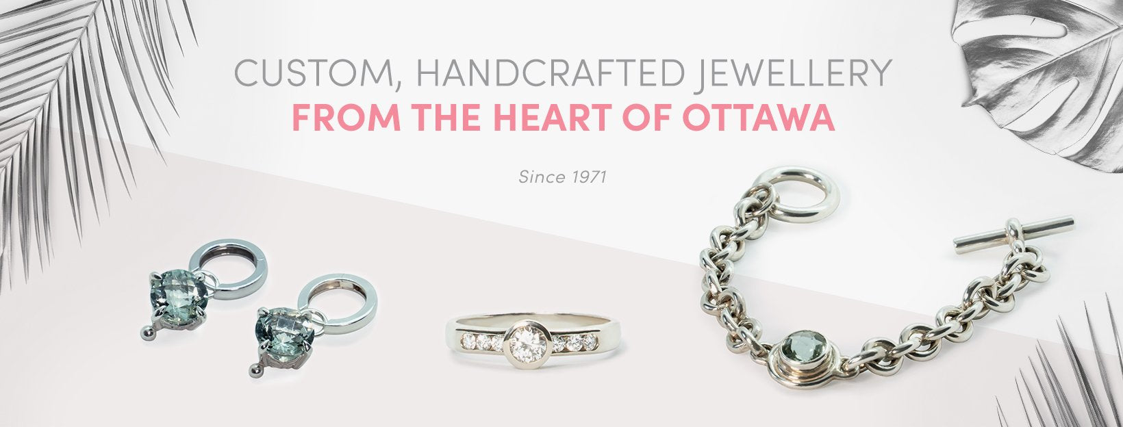 Custom Handcrafted Jewellery From The Heart of Ottawa