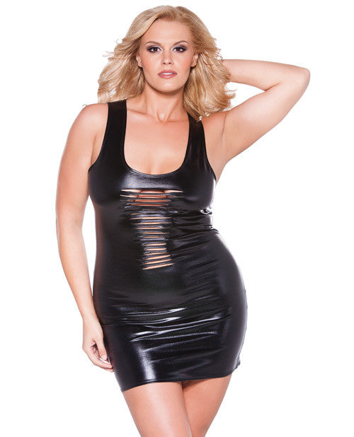 Kitten Risque Sexy Plus Size Dress