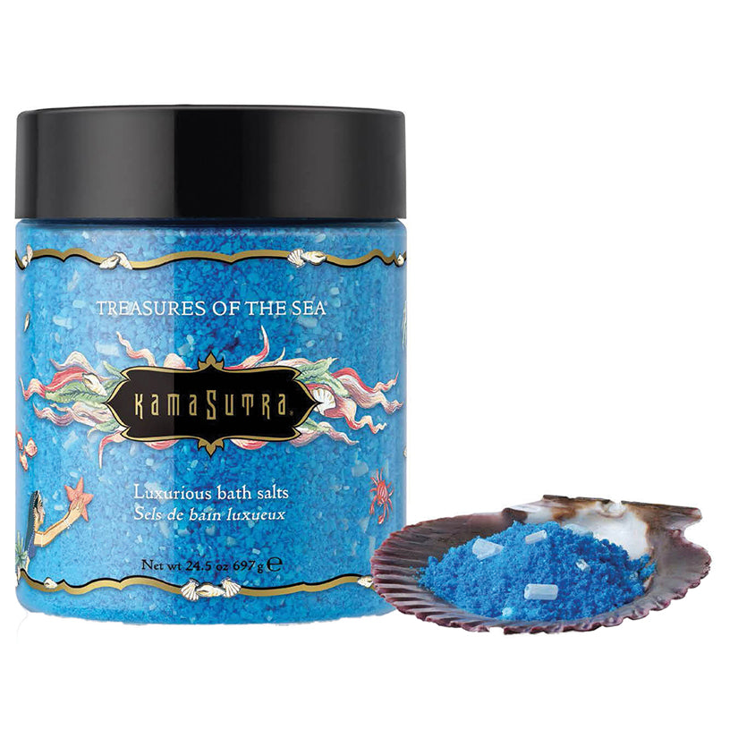 Kama Sutra Treasures Of The Sea Bath Salts 24.5oz