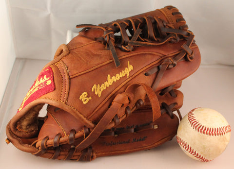 Another sample of a personalized ball glove