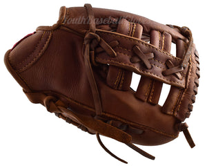 Thumb View of the Shoeless Joe Adult 10-Inch Training Baseball Glove