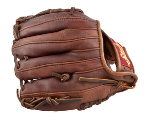 back view of the 11 1/4-Inch Closed Web Shoeless Joe Baseball Glove