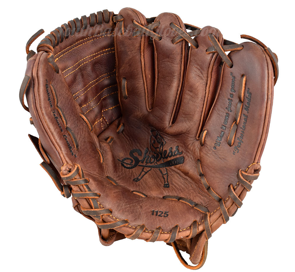 Palm view of the 11 1/4-Inch Closed Web Baseball Glove