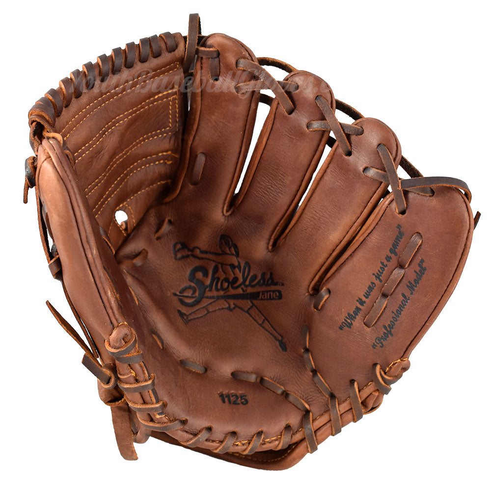 Palm view - 11 1/4-Inch Closed Web fastpitch softball glove