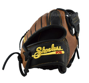 Wrist view 11 1/4-Inch Single Bar Pro Select Shoeless Joe Gloves