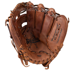 Palm view of the 11 1/2-Inch H-Web from Shoeless Joe Gloves