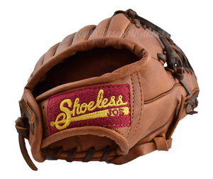 Wrist view of the 11 1/2-Inch Six Finger Shoeless Joe Baseball Gloves