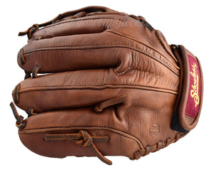 "back view of a 11.75"" Women's Fastpitch Softball glove"
