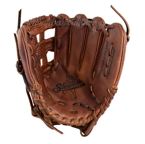 Palm view - 11 3/4-Inch H-Web Shoeless Joe Baseball Glove