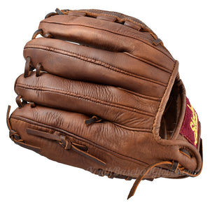 "back view of the 12"" Basket Weave Web Shoeless Joe Glove"