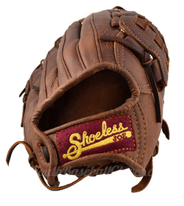 Wrist view on the 12-Inch Basket Web baseball glove