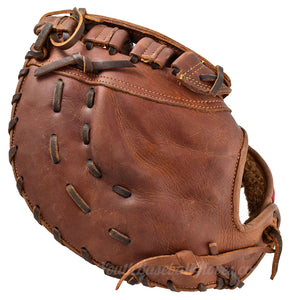 "Shoeless Joe Gloves 12"" First Base Mitt Back View"