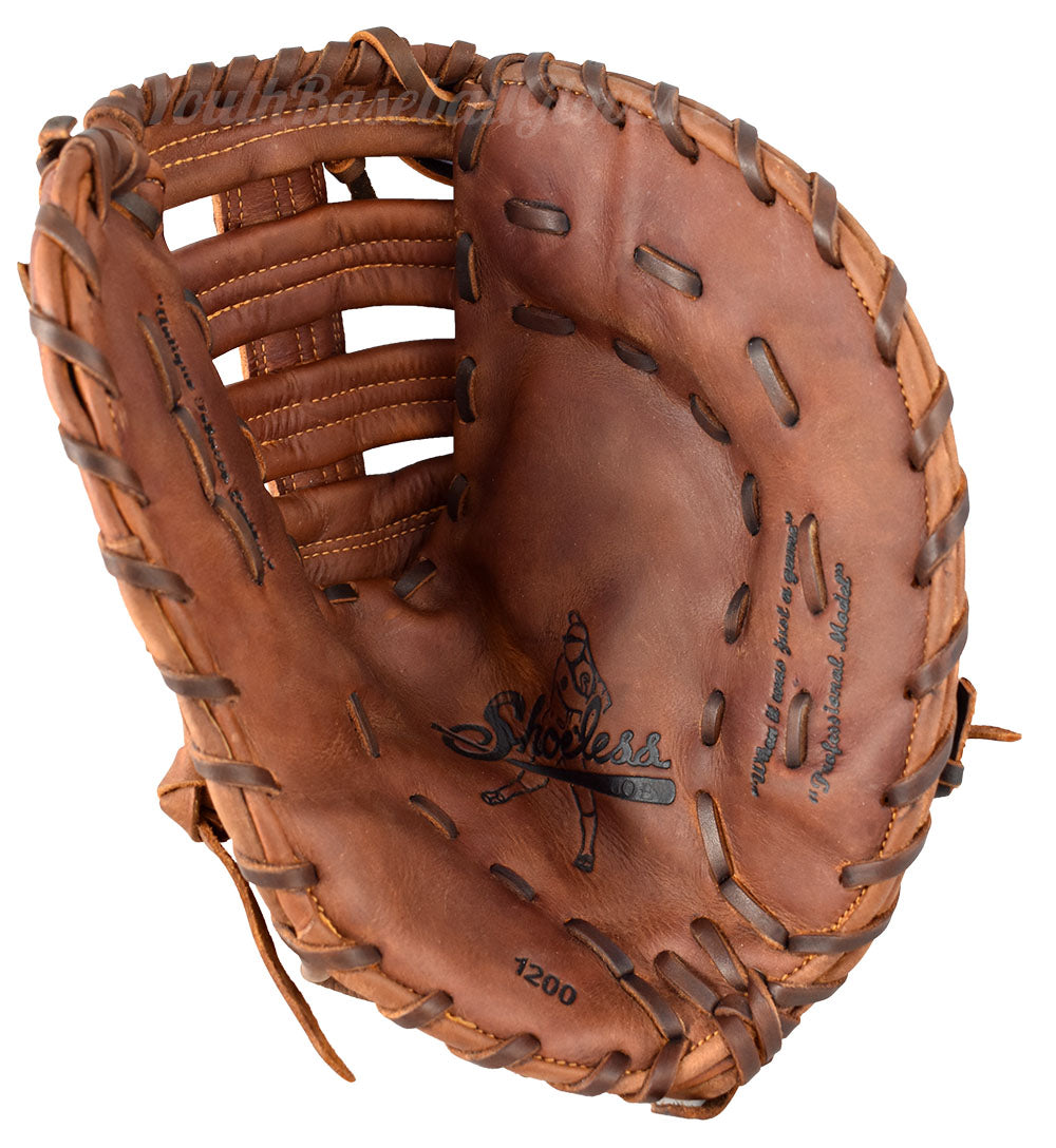 Palm view of the 12-Inch First Base Mitt