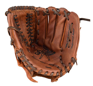 Palm view - 12-Inch V-Lace Shoeless Joe Baseball Glove
