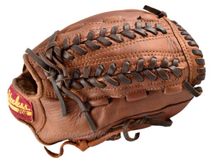 Webbing on the 12-Inch V Lace Baseball Glove