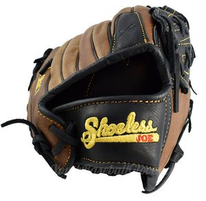 wrist view - Shoeless Joe Gloves Pro Select 12 Inch V Lace