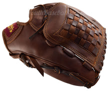 Thumb view of the 12 1/2 Inch Basket Web Baseball Glove