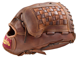 "Basket Web view of the 12 1/2"" Shoeless Joe Outfielder's glove"