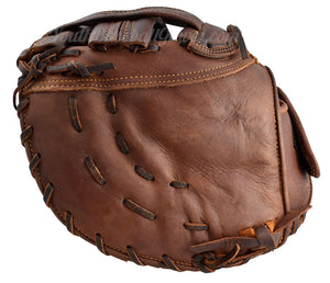 "back of the Shoeless Jane 12.5"" Fastpitch First Base mitt"