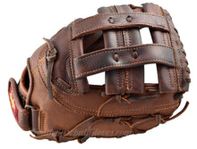 Traditional H-Web on the 12.5-Inch Fastpitch First Base Mitt