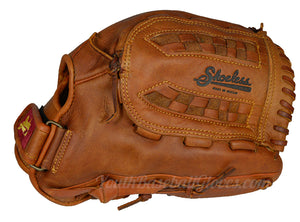 Basket Web View on the 13-Inch Women's Fastpitch Softball Glove