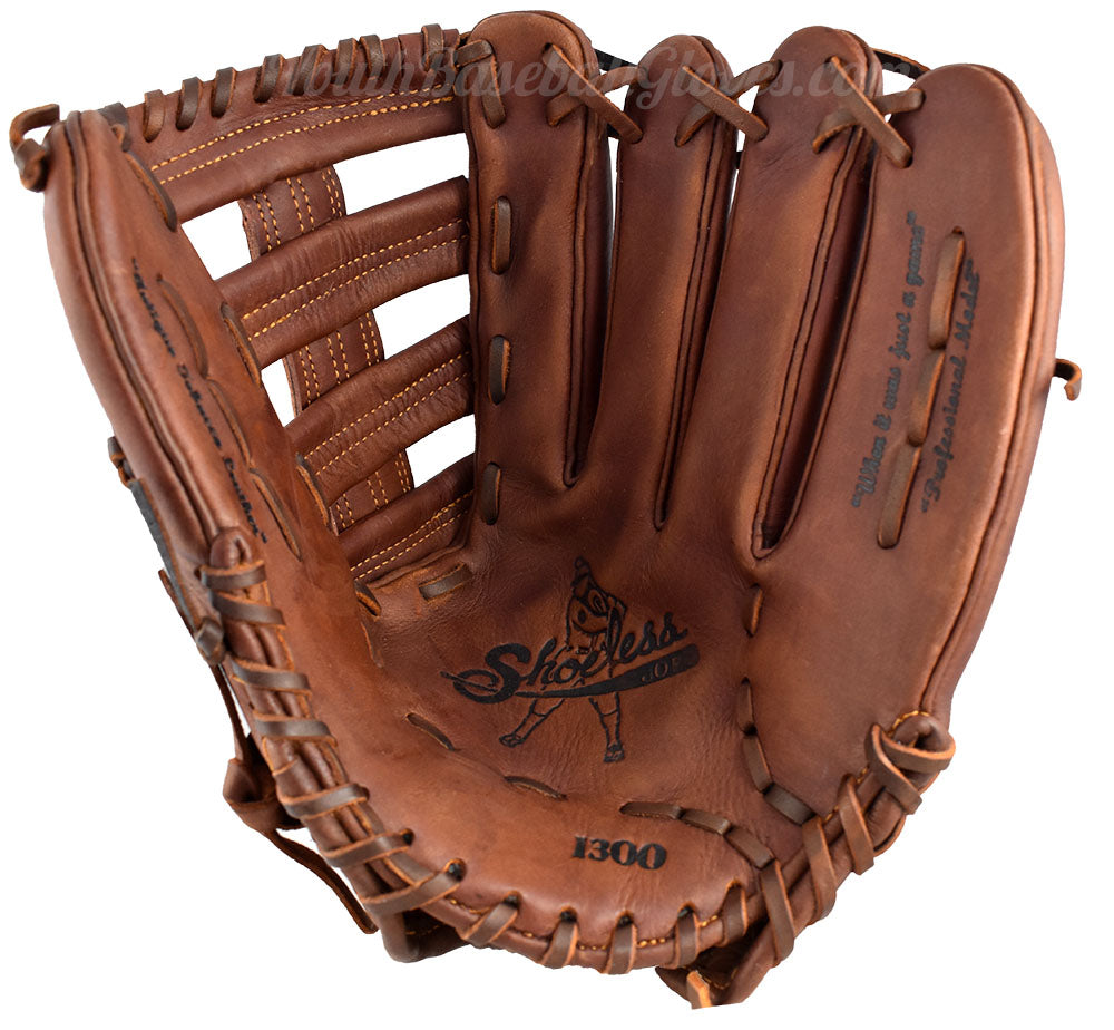 13-Inch Single Bar Shoeless Joe Gloves Outfielder's Glove
