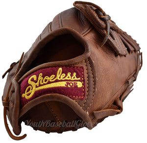 Wrist view of the 13 Inch Single Bar Shoeless Joe Glove