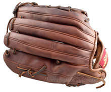 back view of the 14 Inch Basket Web Softball Glove