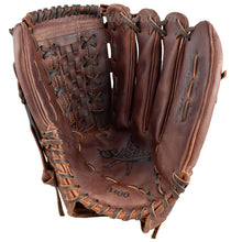 14-Inch Basket Web Shoeless Joe Men's Softball Glove Palm View