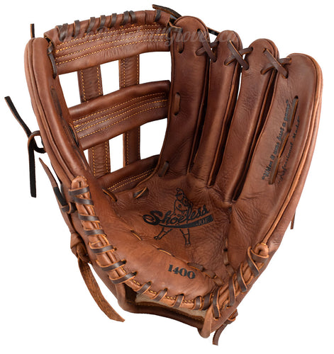 14-Inch H-Web Shoeless Joe - Men's Slow Pitch Softball Glove