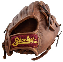 "wrist strap on the 14"" H Web Men's Slow Pitch Softball Glove"