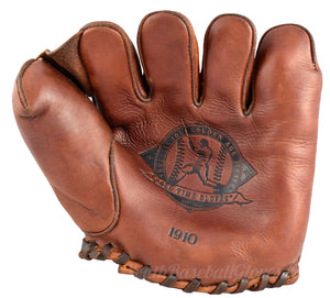 Vintage 1910 Fielder's Glove Golden Era Shoeless Joe Gloves