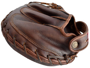 back view of the 1915 Vintage Catcher's Mitt