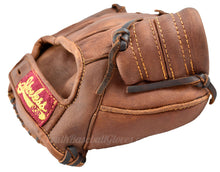 Webbing on the 1937 Fielder's Glove Shoeless Joe Golden Era