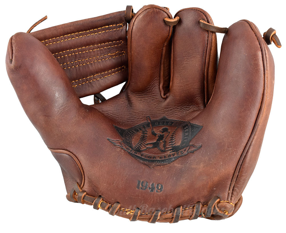 Vintage 1949 Fielder's Glove Shoeless Joe Golden Era replica