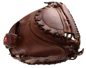 Webbing on the 32-Inch Fastpitch Catcher's Mitt