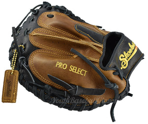 "Back view of the Pro Select 34"" Catcher's Mitt"