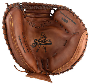 34-Inch Catcher's Mitt Shoeless Joe Gloves Palm view