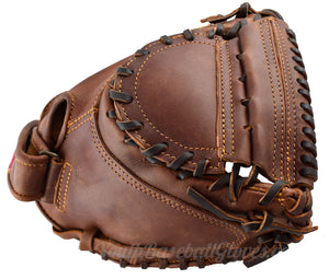 Webbing on the 34-Inch Fastpitch Catcher's Mitt