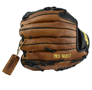 Back view 11 1/4-Inch Closed Web Pro Select Shoeless Joe Glove