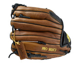 Back of 11 1/2 Inch Modified Trap Pro Select Series from Shoeless Joe Gloves