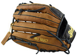 Back of 12 1/2 Inch Modified Trap Pro Select Series from Shoeless Joe Gloves